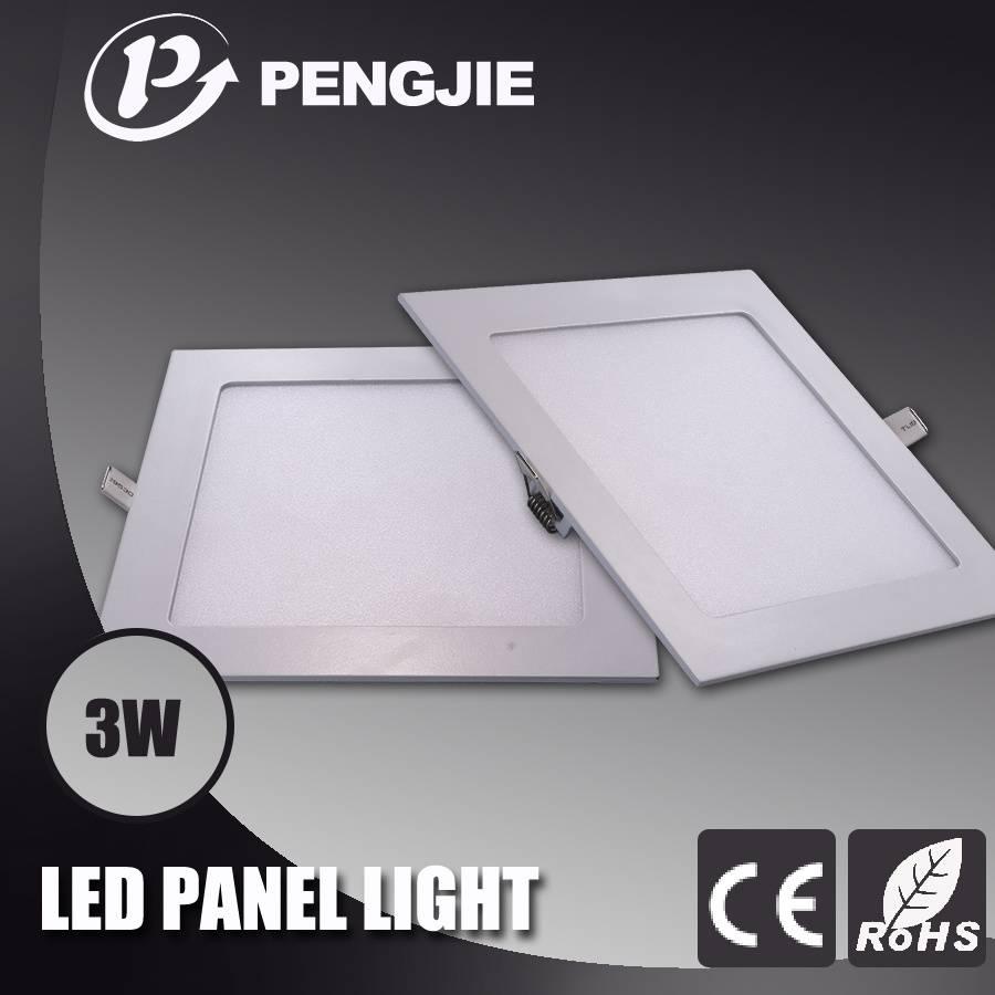PengJie LED Panel light-3W-Square