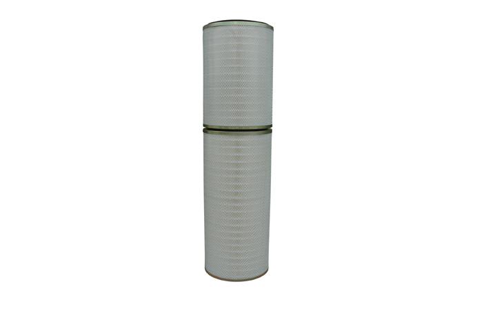 Gas turbine air intake air filter