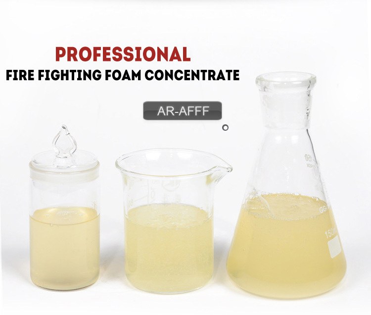 AR AFFF 3% C6 fire fighting foam concentrate/ aqueous film forming foam- alcohol resistant concentra