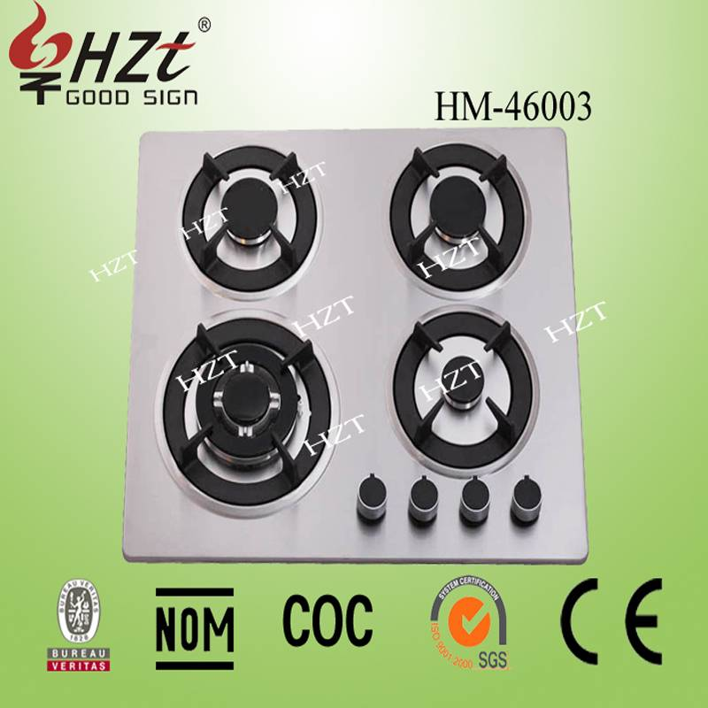 2015 made in china gas hobs with 4 burner