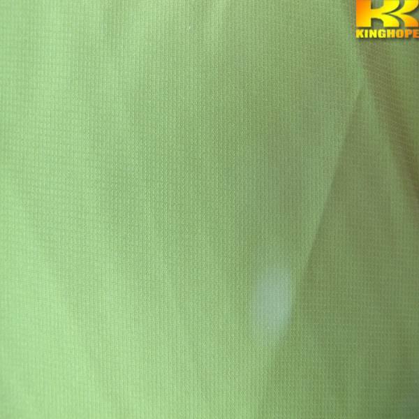 75D pongee jacquard point PU coated fabric