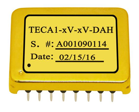 TECA1-xV-xV-DAH Series TEC Controllers