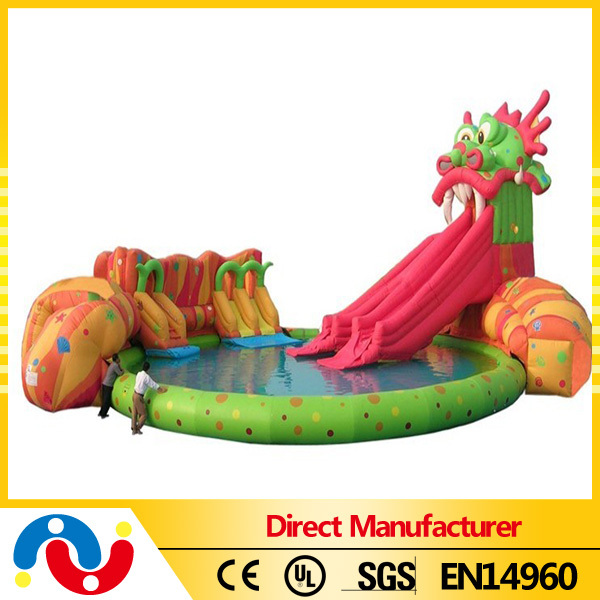 Inflatable Water Park Combo/Inflatable Water Park Slide