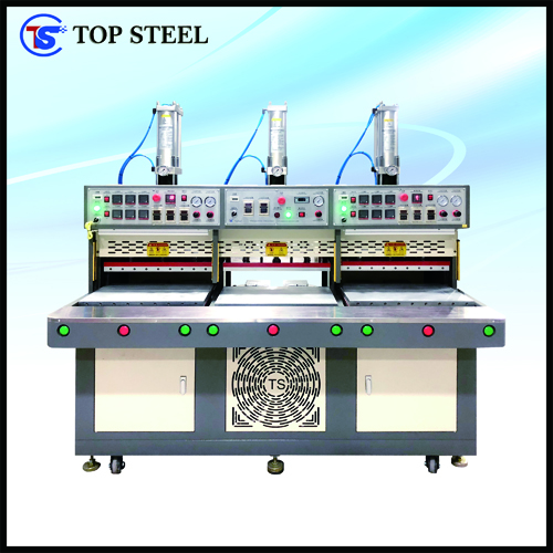 Two-Heating-Station&One-Cooling-Station Automatic Pressing Machine