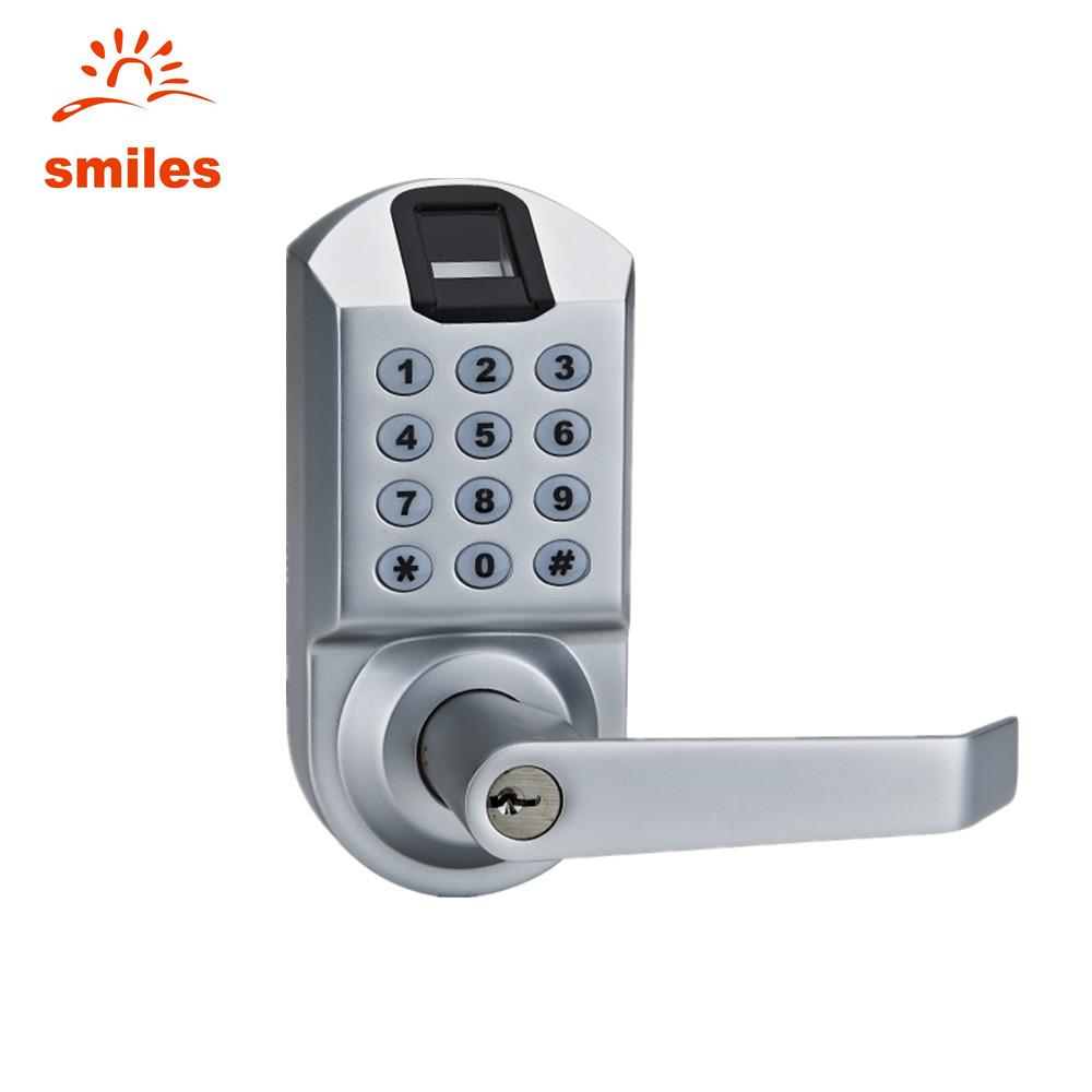 Intelligent Biometric Smart Fingerprint Door Lock With Keypads