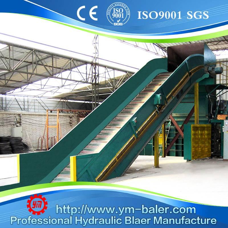 YM-WX150 Hydraulic Baling Press Machine,Horizontal baler
