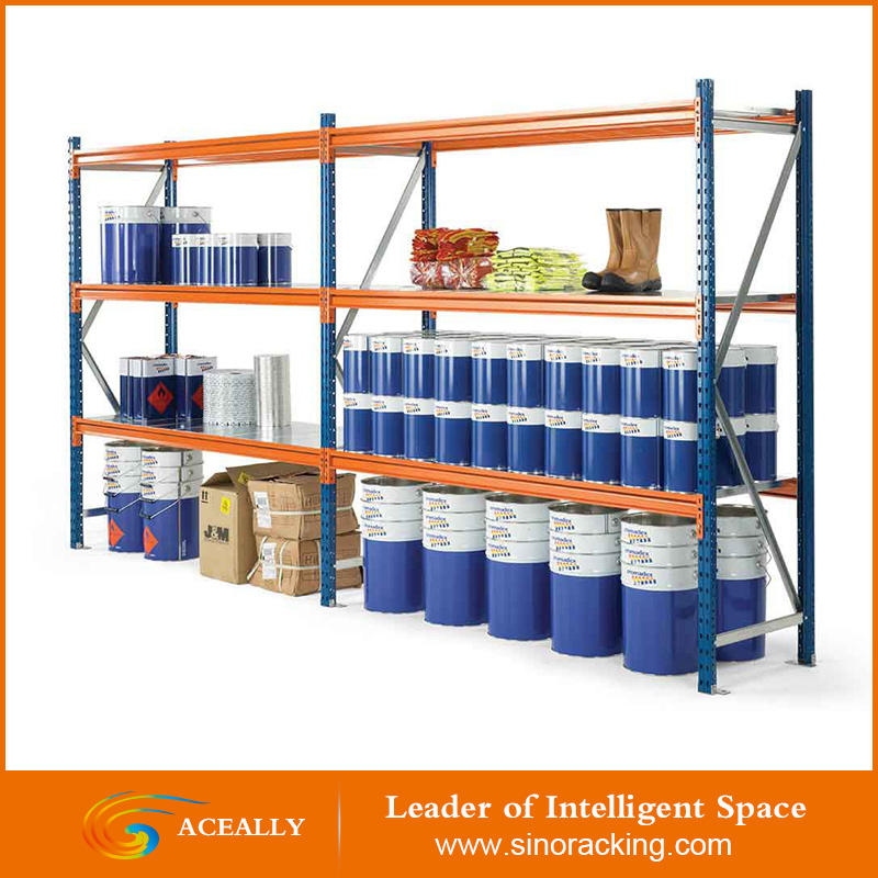Long span Shelving for warehouse and industrial use
