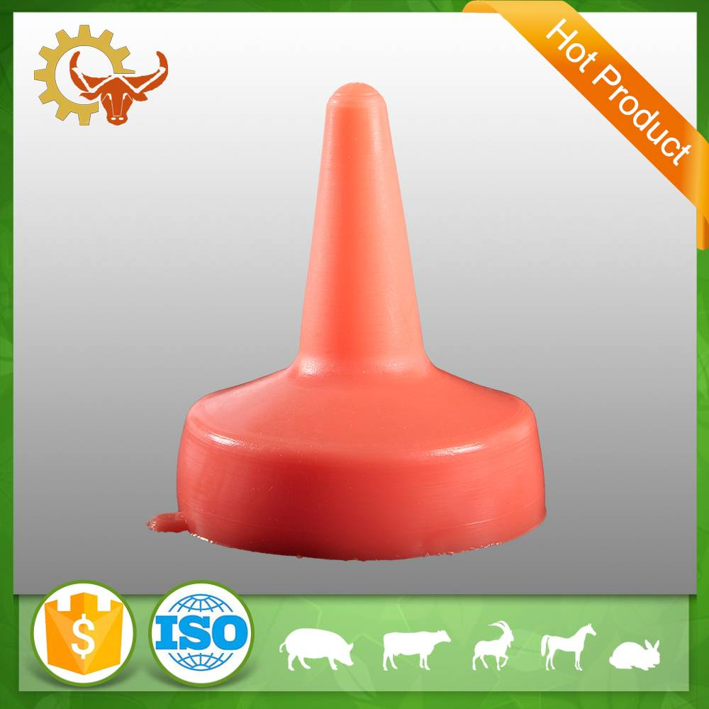 2016 hot product Natural Rubber teat Non-toxic animal nipple