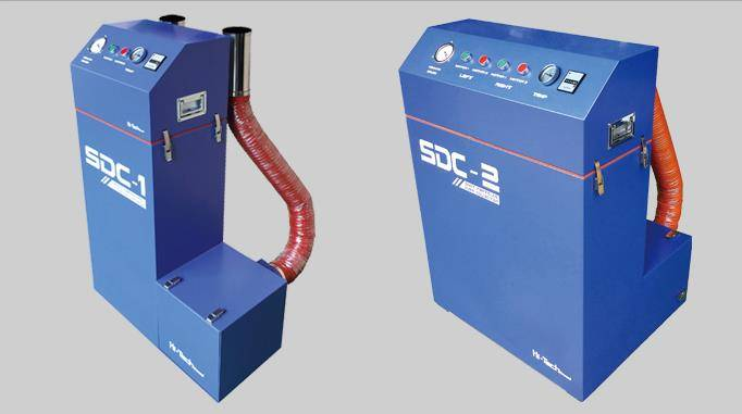 Soot Dust Particle Collector