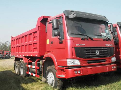HOWO tipper/6*4 dump truck/high quality and low price/tipper made in China