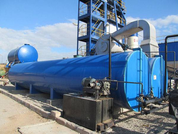 Bitumen Melting Machine /asphanlt mixing plant