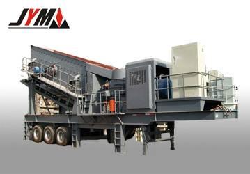 The wheeled mobile crushing plant