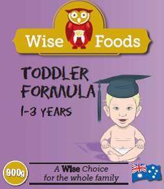 Wise Foods Toddler Formula