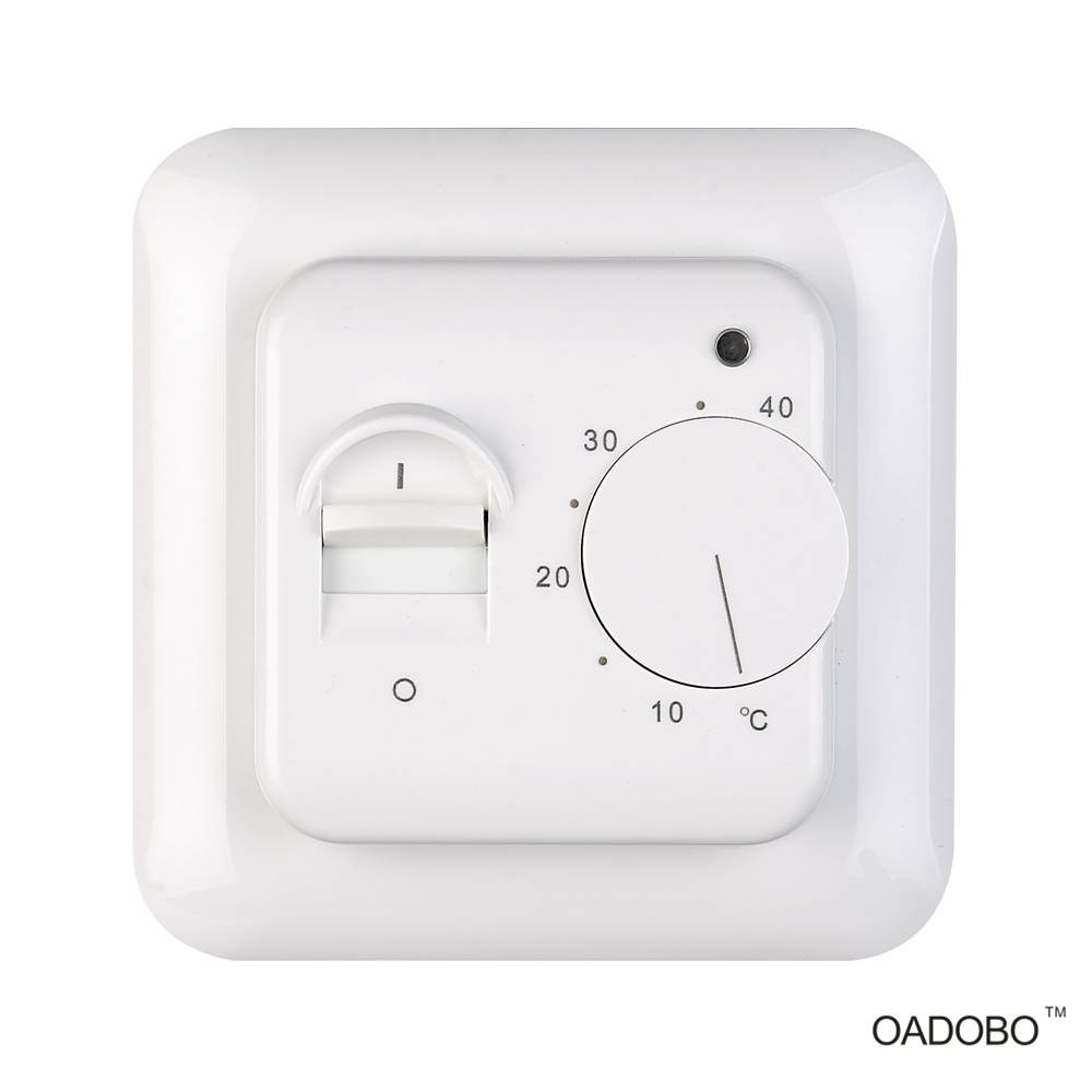 V5 universal heated floor thermostat in temperature control