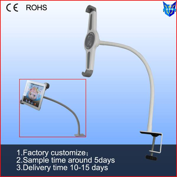 high quality flexible gooseneck tablet security holder