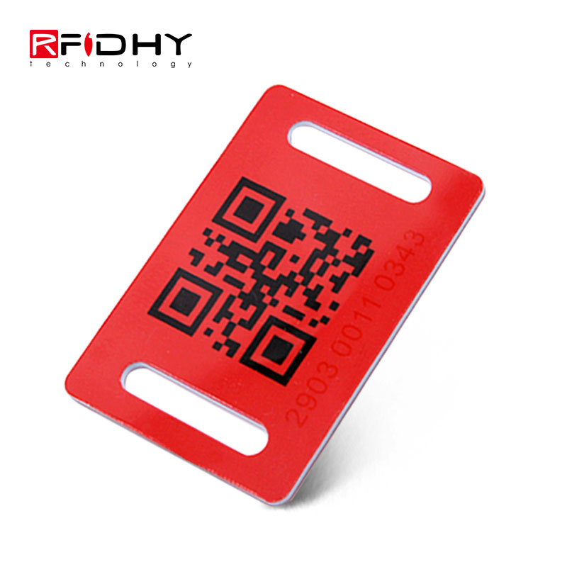 Made in China Programmable QR Code RFID Key Tag