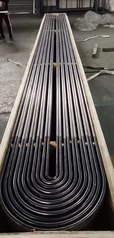 Monel 400 Seamless Nickel Alloy Steel Tube with U Shape Pipe