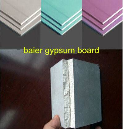 Decorative Gypsum Wall Plaster Board