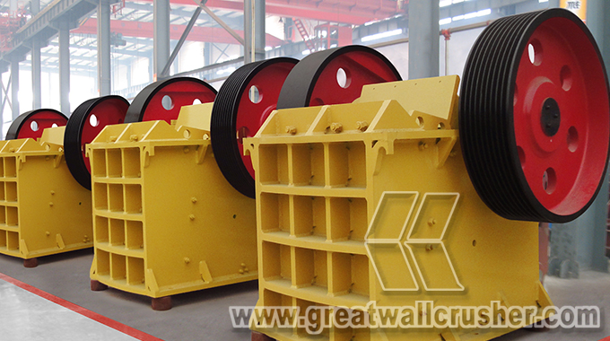 Great Wall Jaw Crusher for sale