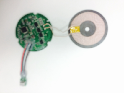 Qi 10W wireless charger module/solution for power bank