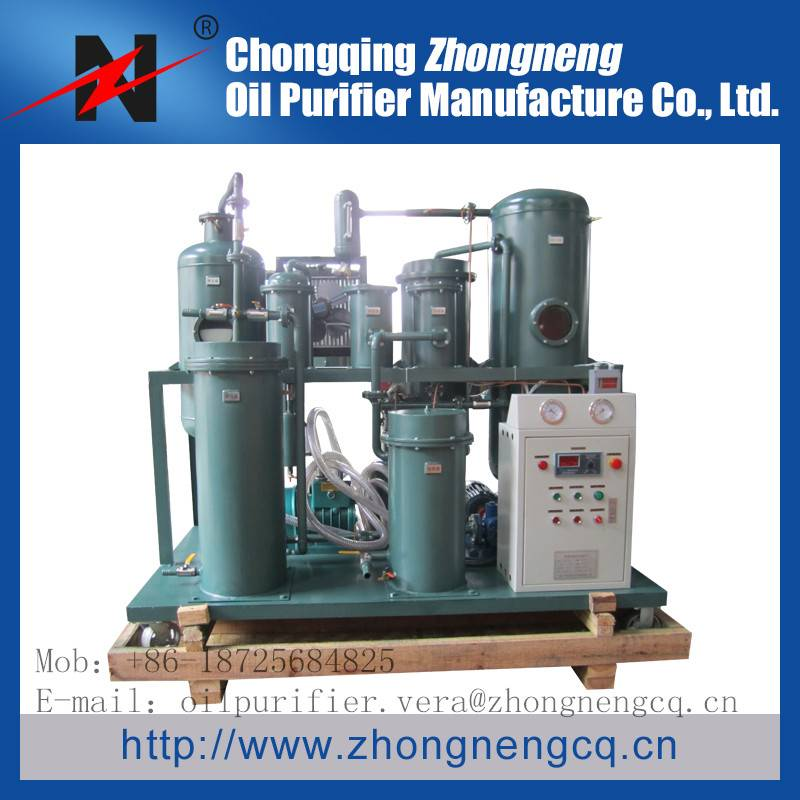 TYC Lube Oil Regeneration Filter/Lube Oil Treatment Equipment/Hydraulic Lube Oil Recycling Machine