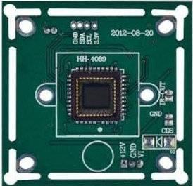 600TVL CMOS Board Camera with IR-cut
