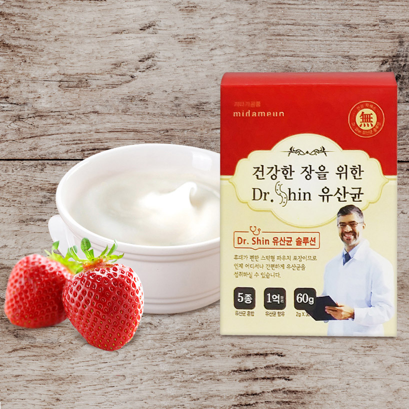 Midameun Dr. Shin Lactobacillus for Healthy Intestines