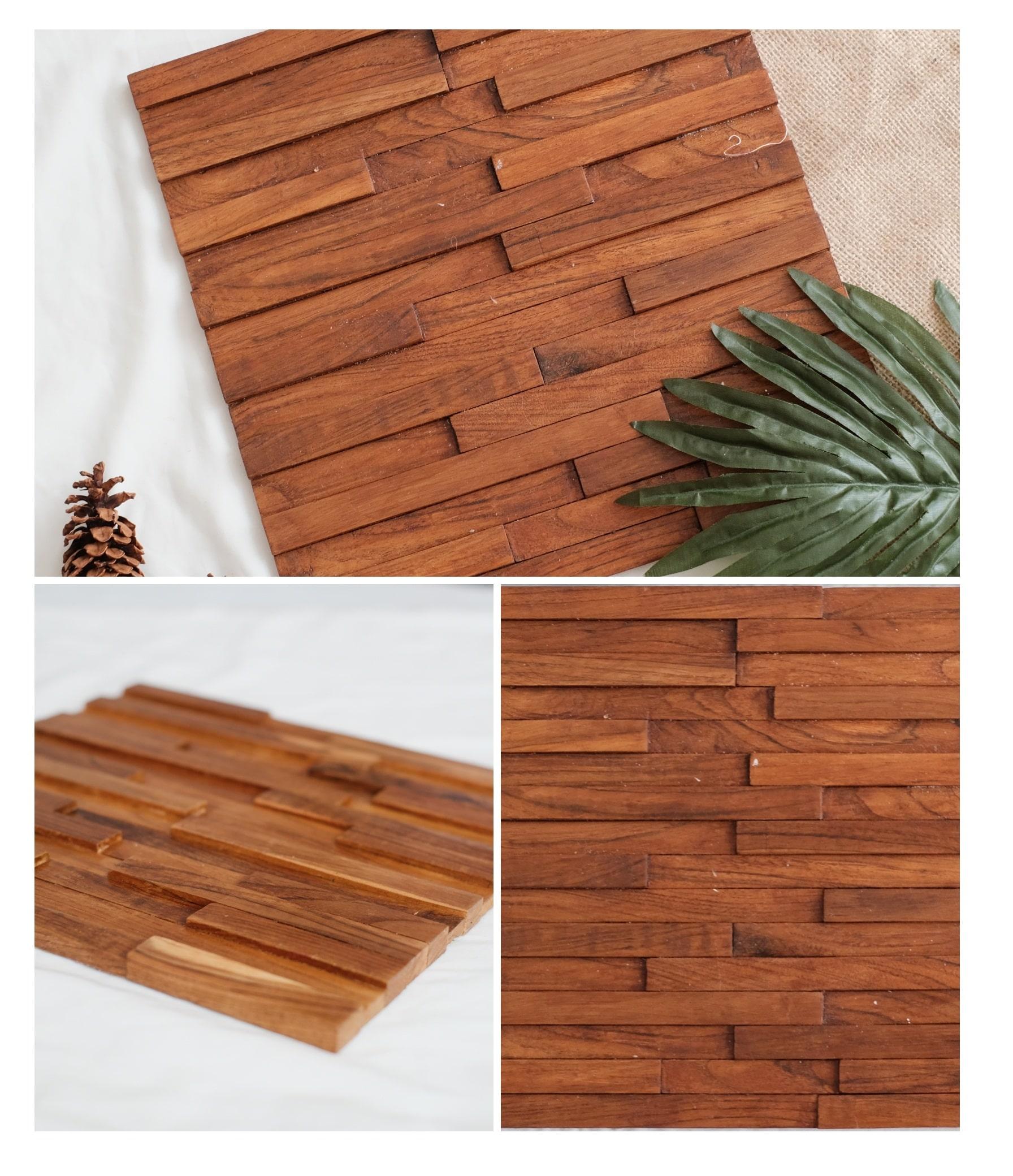 Teak Wood Mosaic