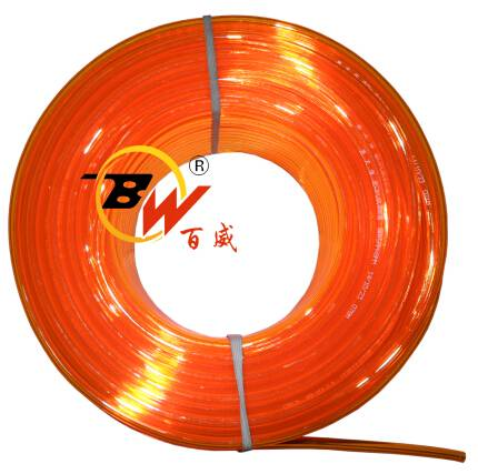 5 x 8mm x 100 M PU Hose Transparent Orange Colour