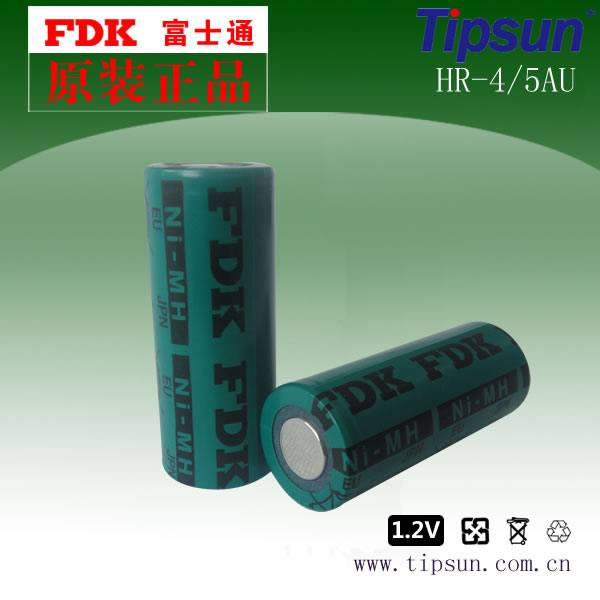 Authorized FDK 1.2V 2150mAh 17430 Ni-MH Rechargeable Battery HR-4/5AU, High Energy Density Ni-MH Bat