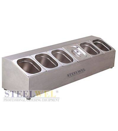 steelwel condiment pan