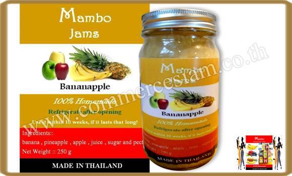 THAILAND BANANA WITH APPLE JAM