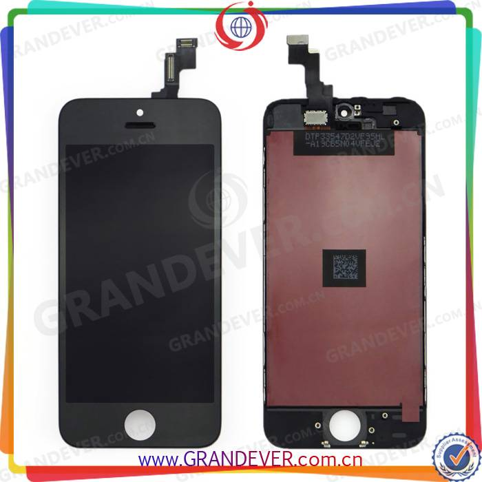 Wholesale AAA Quality LCD Display for iPhone 5G , for iPhone 5G LCD Screen Digitizer Assembly Replac