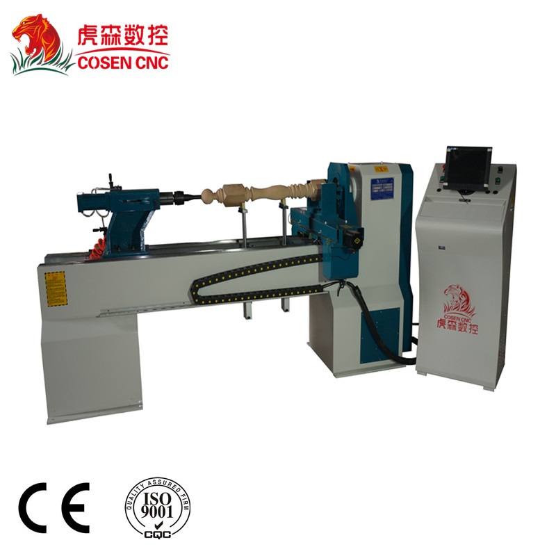 cosen cnc wood lathe for wood products