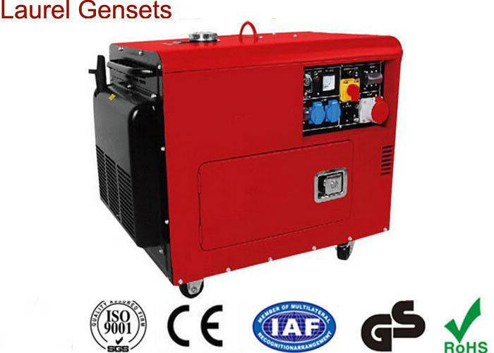 Double Cylinder Low Fuel Consumption Super Diesel Generator Air-cooled for Home Use