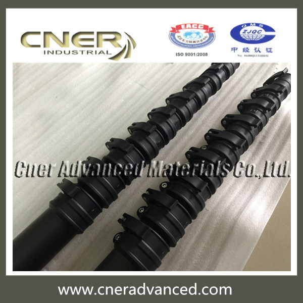 45ft carbon fiber window cleaning pole with clamps