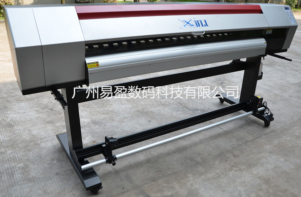 2.5M High resolution Dx5 Head Vinyl Eco Solvent Flatbed Advertising Printer