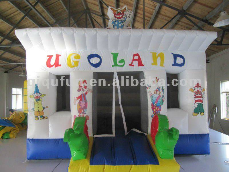 Commercial inflatable bouncer