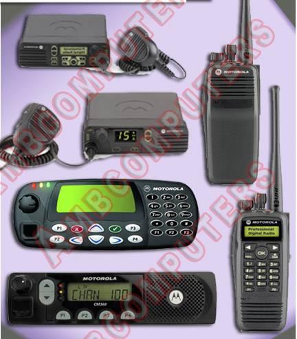 Motorola Ericsson Two Way Radio System Mobile Radio System