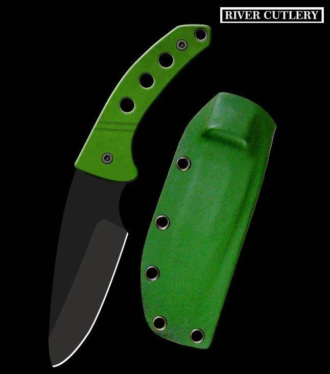 Knife Quality  Fixed Blade Green G10 Handle  Tactical knife