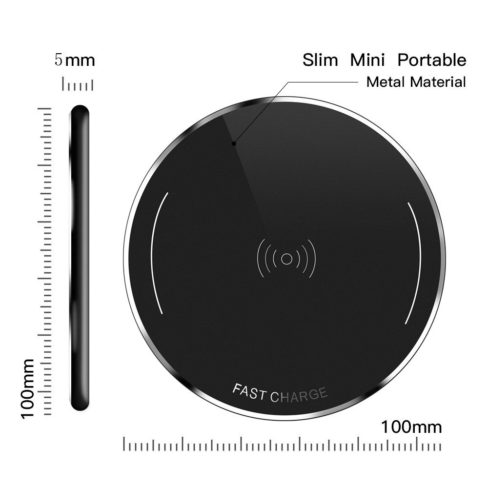 Mobile phone fast wireless charger iphone/samsung