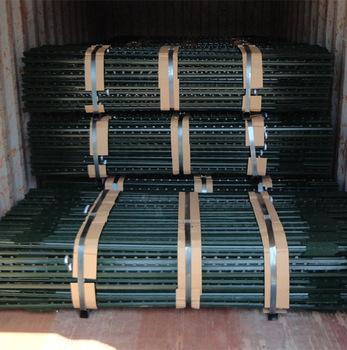 0.95lb rail steel plastic coating Studded T Post Wholesale