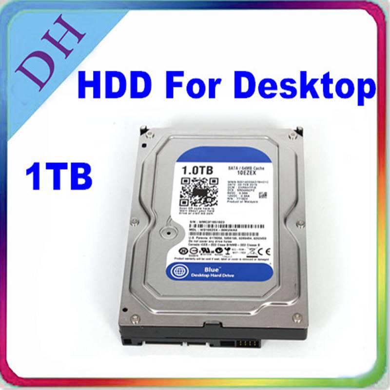 [computer hard disk] WD hard disk 1 tb, 7200rpm internal hdd sata