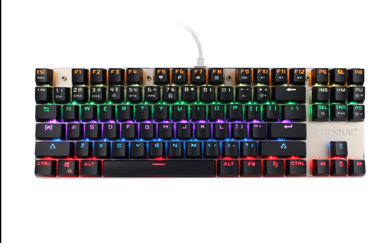 TEAMWOLF wired mechanical gaming keyboard X05