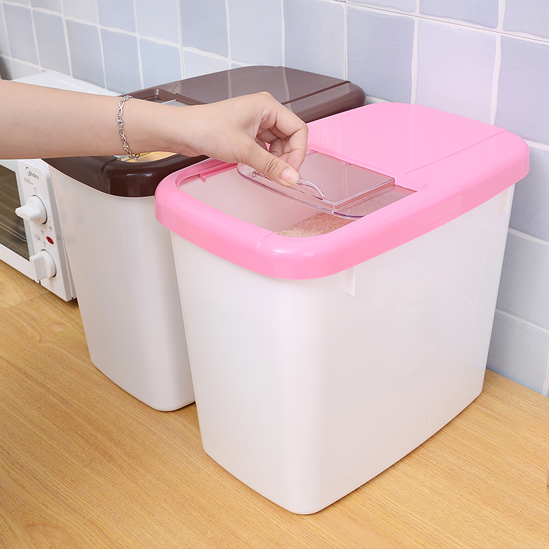 plastic rice storage box for kicthen/NEW PP big size