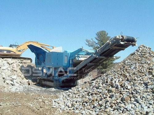Track Mobile Jaw Crusher