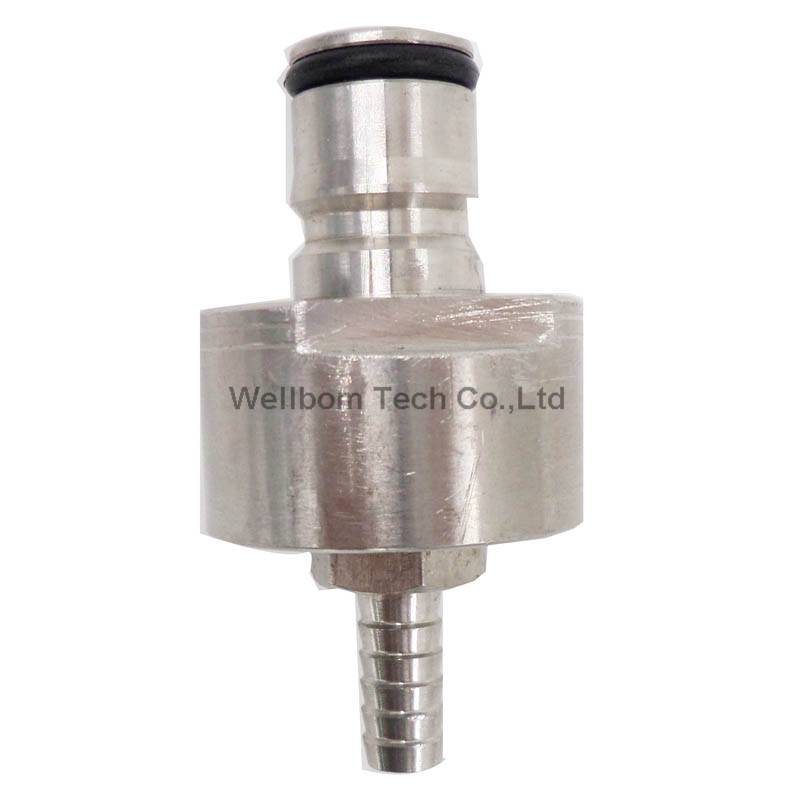 """Stainless steel Carbonation Cap w/ 5/16"""" Barb, Ball Lock Type, fit soft drink PET bottles, Homebrew"""