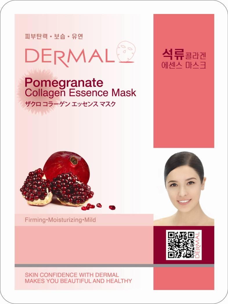 Dermal Pomegranate Collagen Essence Mask