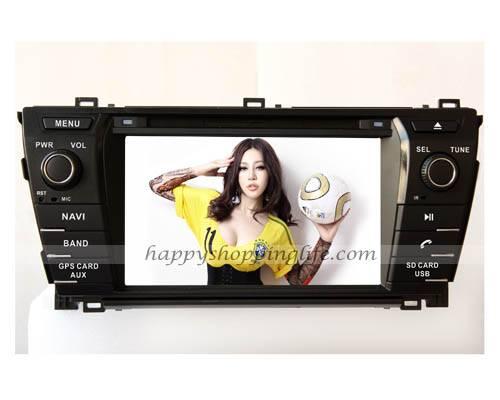 2014 Toyota Corolla Auto radio DVD GPS Navigation Digital TV Bluetooth Touch Screen