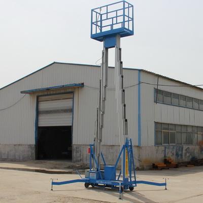 China high quality 10M 220KG mobile aluminum man lift platform